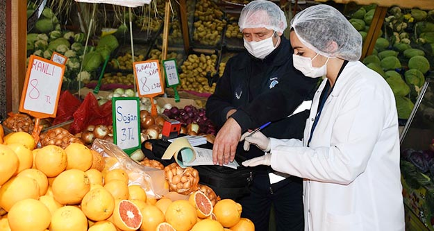 Sağlıksız gıda denetiminde 26 firmaya  24 bin 339 TL para cezası