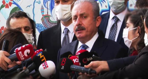 TBMM Başkanı Mustafa Şentop'tan fezleke açıklaması