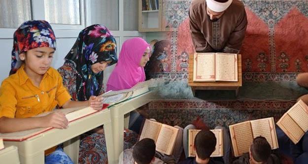 Valilikler  Kur'an kurslarında yüz yüze eğitim izni verdi