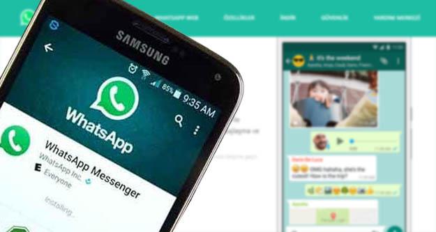 WhatsApp'ta uyarılar için yeni dönem