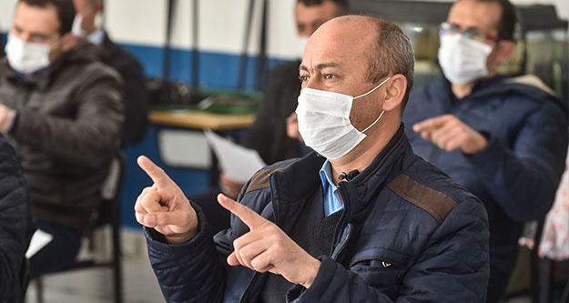 Ankara'da toplu ulaşım personeline işaret dili eğitimi