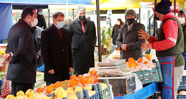 Atakum Belediyesi'nden pazar yerlerinde sıkı denetim