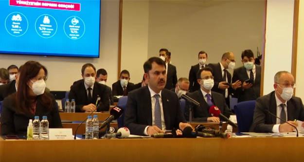 Bakan Kurum: İstanbul'da riskli 1.5 milyon konut var
