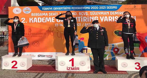 Belediye'nin desteği Ayşe Bozkurt'ta başarı getirdi
