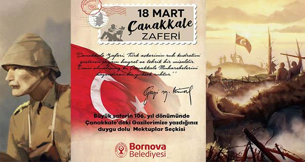 Çanakkale Zaferi, Bornova'da etkinliklere kutlanacak