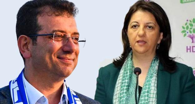 Ekrem İmamoğlu'ndan Pervin Buldan'a 'Nevruz' telefonu
