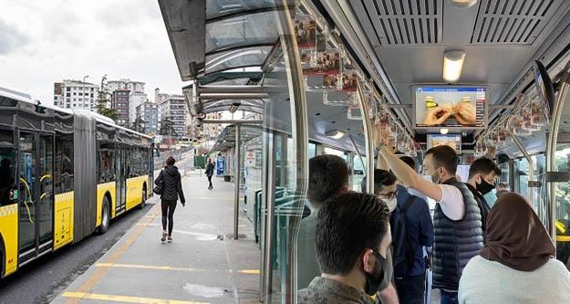 İstanbul'da toplu taşımadaki yaş sınırlanması kaldırıldı