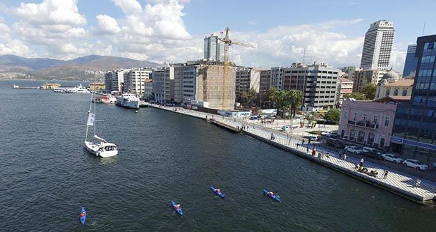 İzmir Büyükşehir'den temiz körfez için önemli adım