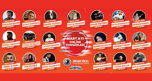 Kartal'da müzik sektörüne destek  konserleri devam ediyor