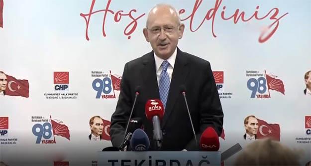 Kılıçdaroğlu: Demokrasiyi savunmak özgürlüğü savunmaktır
