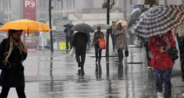 Meteoroloji'den  Akdeniz Bölgesi için kuvvetli yağış uyarısı