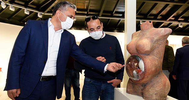 Muratpaşa'da 'Zor Günler' Sanata yansıdı