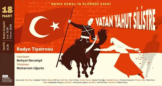 Vatan Yahut Silistre , Radyo Ataşehir'de