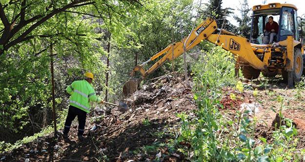 Kartal Belediyesi, balcı deresi için start verdi