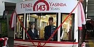 Karaköy Tüneli 143 yaşında