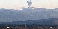 TSK, Afrin'i obüslerle bombardımana tutuyor