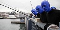 Blue Man Group Türkiye'ye hayran kaldı