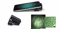 Cep telefonları mikroskoba dönüşecek