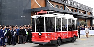 İBB#039;nin sürücüsüz ve elektrikli aracı tanıtıldı