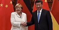 Merkel'den Çin ziyareti ile ilgili açıklama