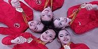 Avrupa Ritmik Cimnastik Şampiyonluğu aldılar