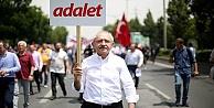 Adalet Yürüyüşü'ne katılanları tehdit eden sendikacıya hapis cezası