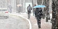 Meteoroloji#039;den  13 il için yağmur ve kar uyarısı