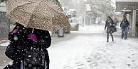 Meteoroloji#039;den kar yağışı ve fırtına uyarısı