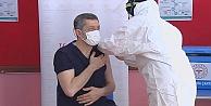 Milli Eğitim Bakanı Ziya Selçuk koronavirüs aşısı oldu