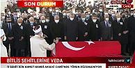 Helikopter kazasında şehit olan askerler için cenaze töreni düzenleniyor