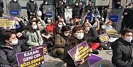 Kadın Cinayetlerini Durduracağız Platformu'eylemine polis müdahalesi