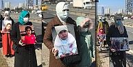 Uygur Türkü anneler, çocukları için 'istanbul'dan Ankara'ya yürüyor