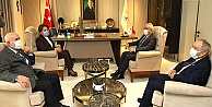 DSP Genel Başkanı Aksakal, Akşener'i ziyaret etti