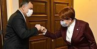 Akşener,Çankaya Belediye Başkanı Taşdelen ile bir araya geldi