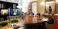 Erdoğan, AB Komisyonu Başkanı Leyen ile video konferansla görüştü