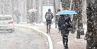 Meteoroloji'den  13 il için yağmur ve kar uyarısı