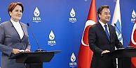 Akşener ve Babacan'dan ortak basın toplantısı