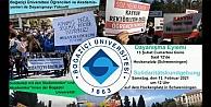 Almanya'da Boğaziçi'ne destek eylemi: Aşağı Bakmayacağız
