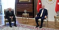 Erdoğan ve Bahçeli  1 saat hukuk ve ekonomi konuştu