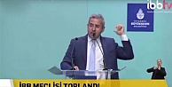 İBB Meclisi'nde şantajcı kavgası: Sensin şantajcı. Alçak herif !