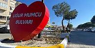 Burhaniye'nin kaldırımları güzelleşiyor