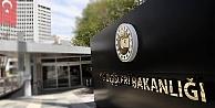 Dışişleri Bakanlığı'ndan ABD'ye HDP tepkisi