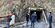 Maden ocağında göçük ,1 işçi mahsur kaldı