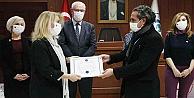 Yöresine Değer Katan Önder Kadın ödülü OKEP'e verildi