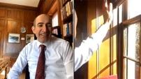 Boğaziçi Üniversitesi öğrencileri Melih Bulu'yu yuhladı