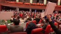 HDP'liler Bakan Soylu'yu protesto etti